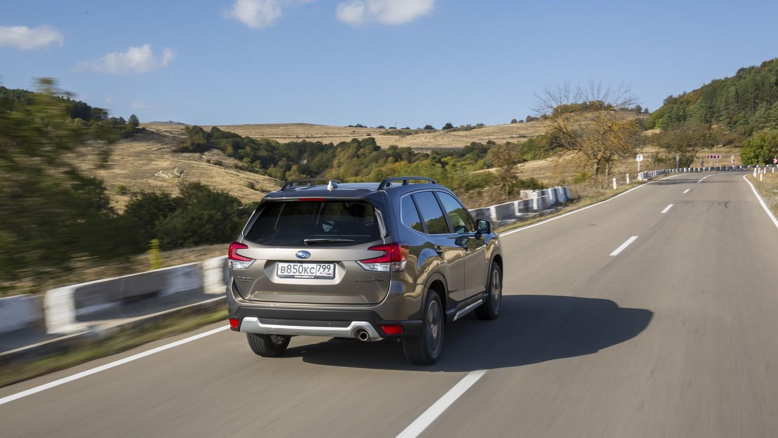 Subaru Forester SK сзади