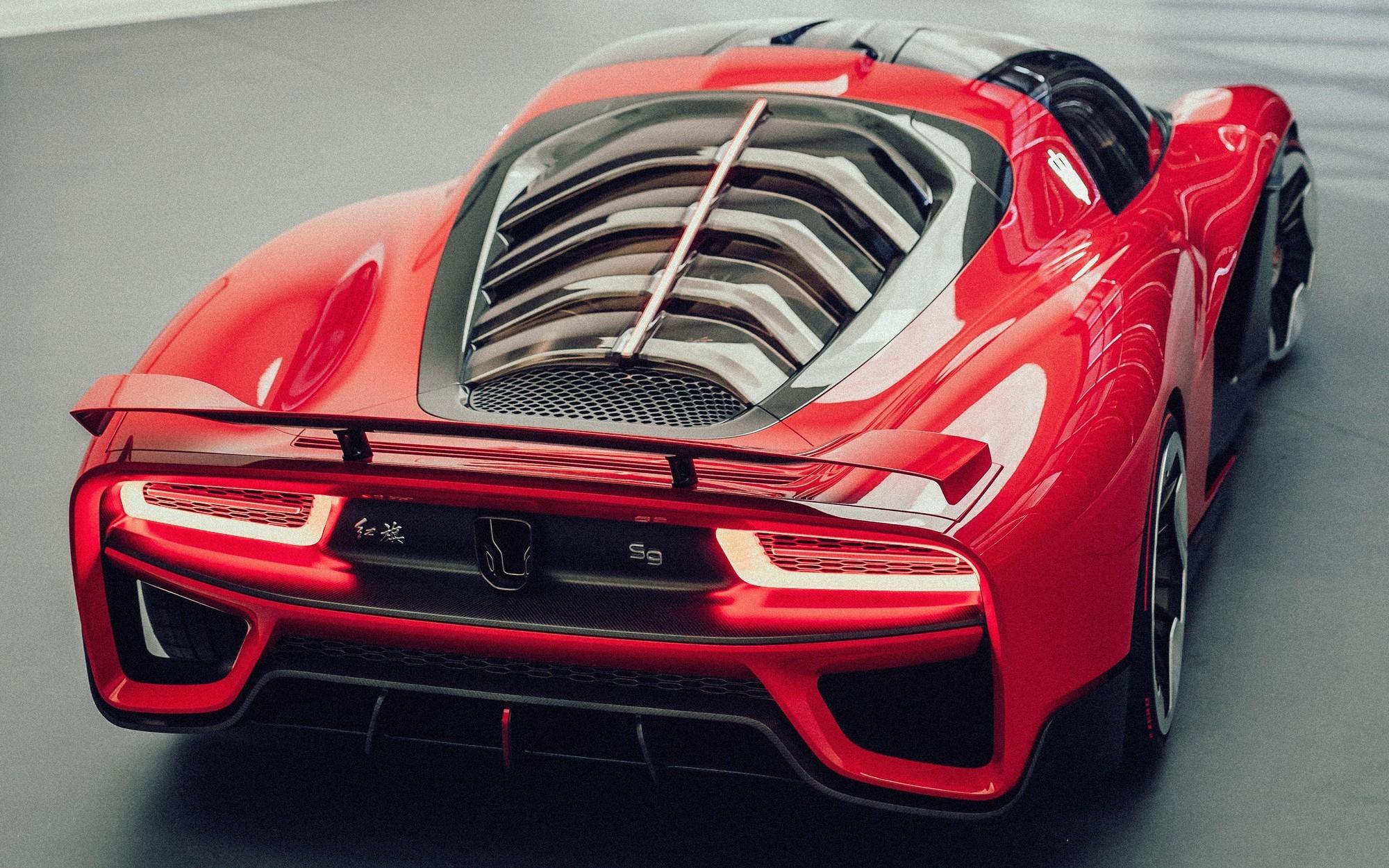 Вальтер де Сильва облагородил дизайн китайского суперкара Hongqi S9 и нарисует ещё три