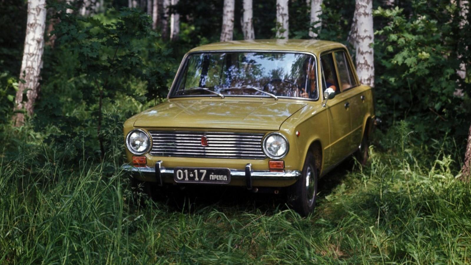 На фото: ВАЗ-2101 Жигули '1970–82