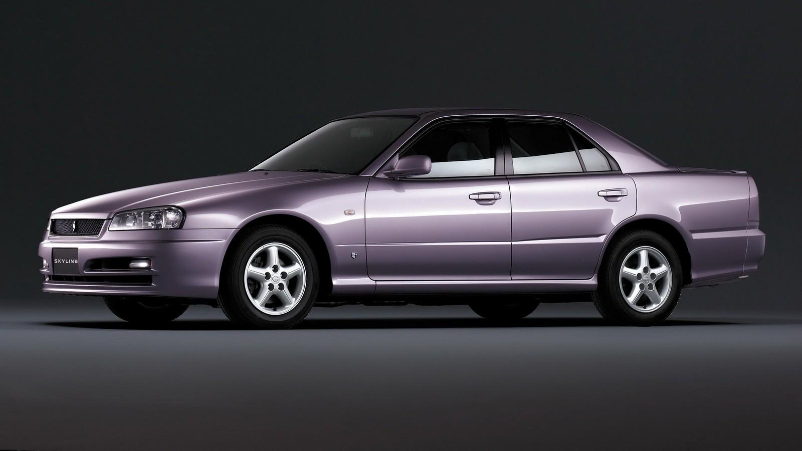 Nissan Skyline 25GT-X Turbo Sedan (R34) '05.1998–08.2000 сзади