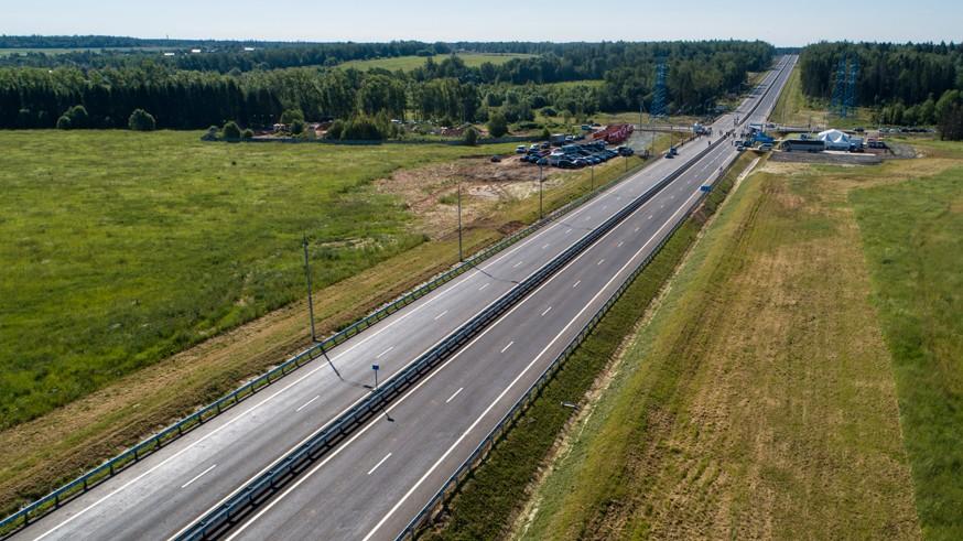 Строительство ЦКАД: через пару недель появится сквозной проезд к платной трассе М-11 «Нева»