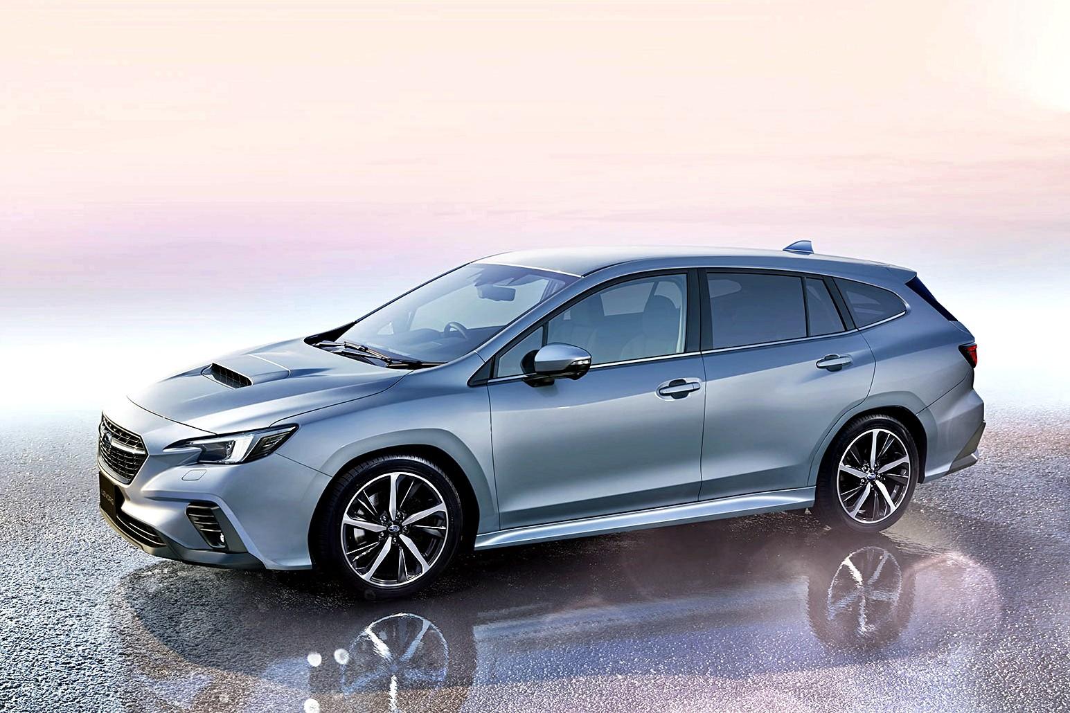 Новый Subaru Levorg простит его не пинать универсал полностью рассекречен