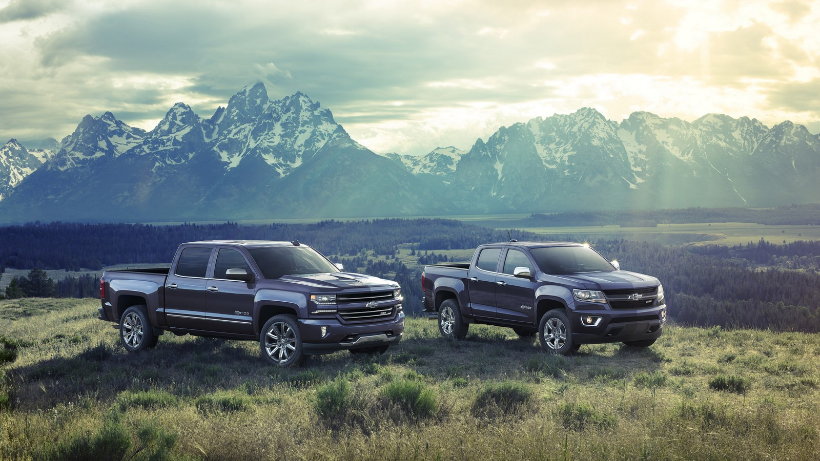 2018 Centennial Edition Silverado and Colorado — To commemorate