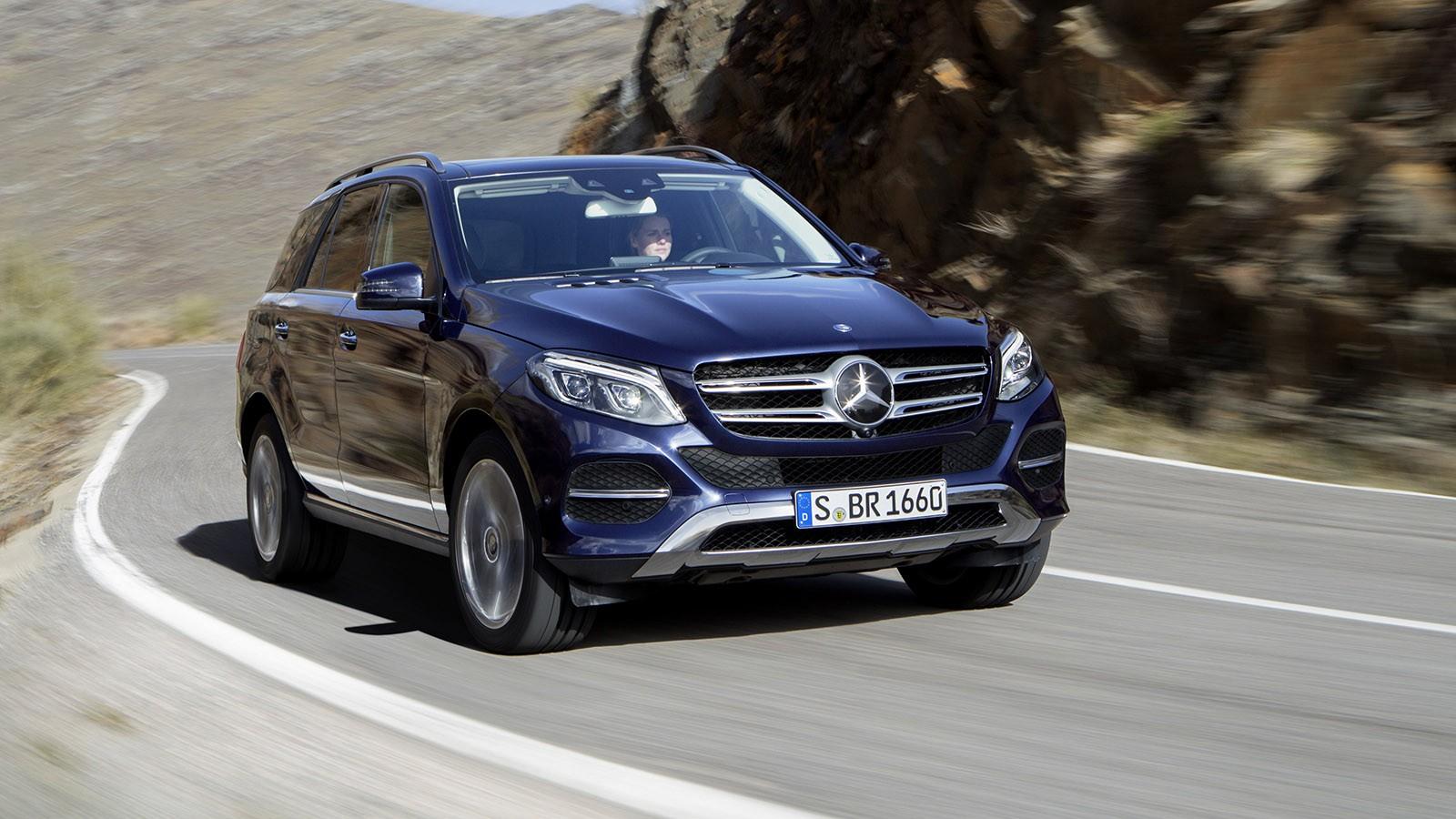 На фото: Mercedes-Benz GLE