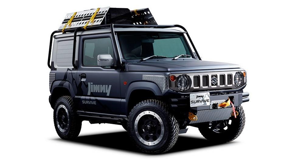 Концепт Suzuki Jimny Survive