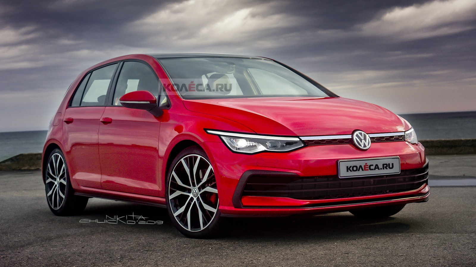 Volkswagen Golf front1