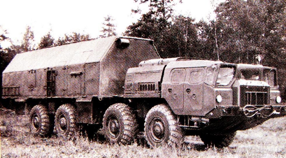 14-тонный кузов 2213 для радиотехнического оборудования