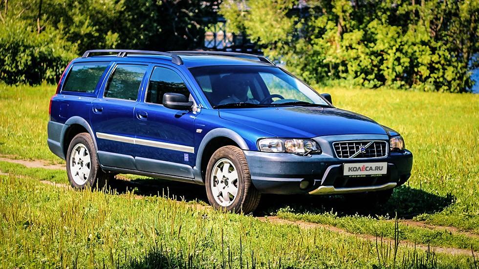 Volvo V70 XC три четверти