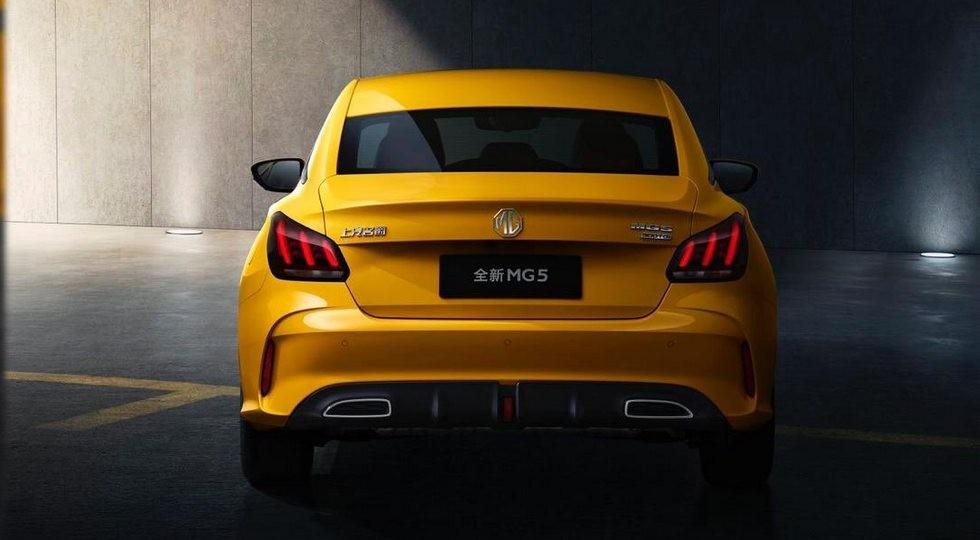 Новый MG 5: теперь купеобразный седан. Компанию ему составит паркетник Pilot