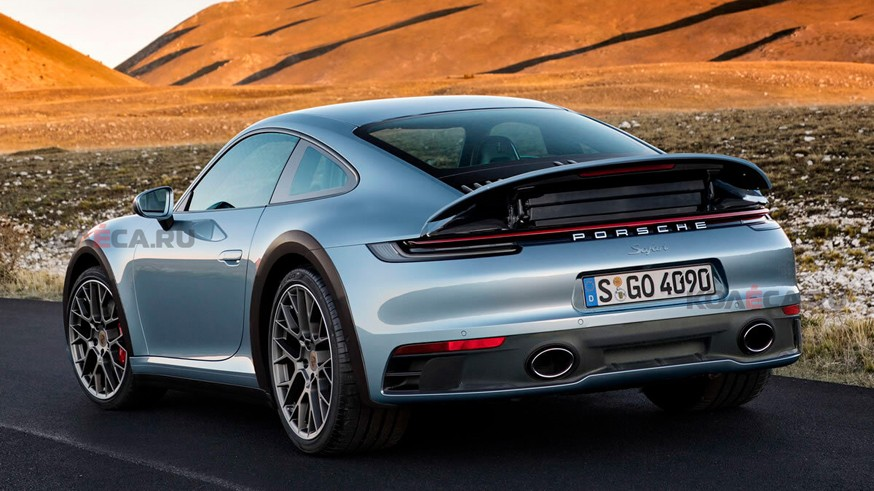 Cпортивный кроссовер Porsche: новое изображение 911 Safari