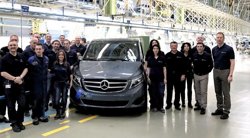 Mercedes-Benz Werk Vitoria feiert 100.000ste V-Klasse