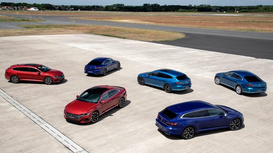 Премьеры Volkswagen: обычные и «заряженные» обновлённый лифтбек и универсал Arteon
