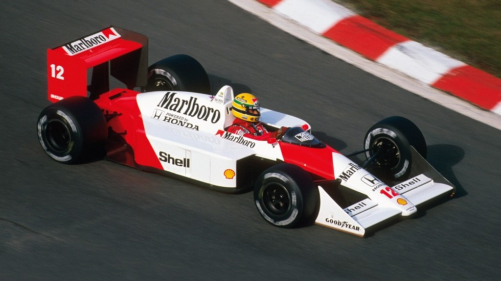 На фото: McLaren Honda MP4-4 '1988