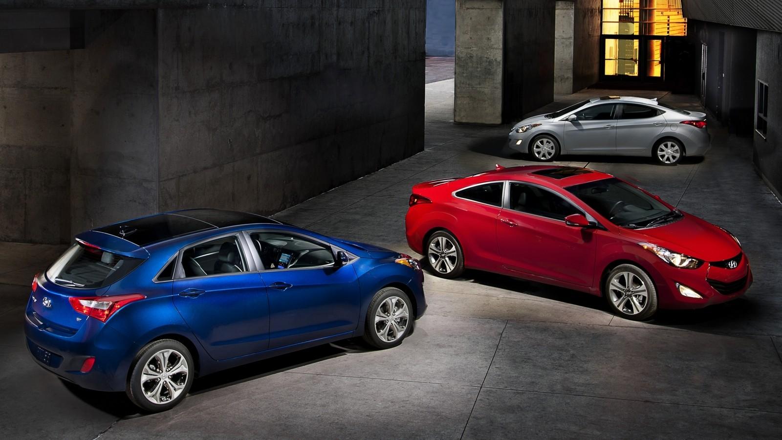 На фото: Hyundai Elantra (MD) '2010