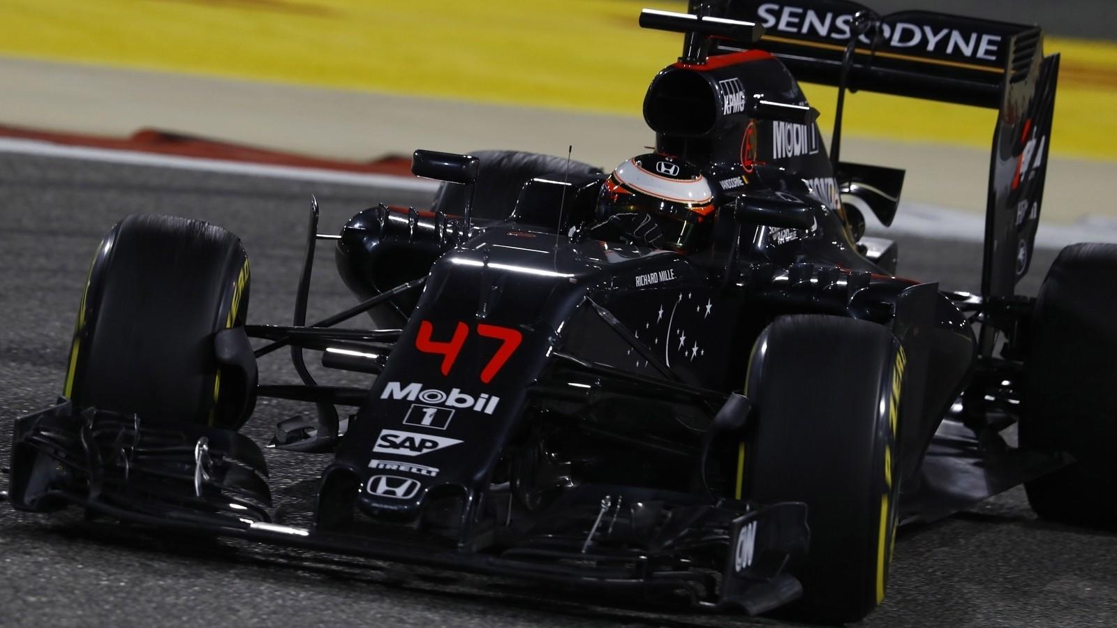 В сезоне 2016 года Вандорн дебютировал в Формуле-1 и сразу же сумел набрать очки