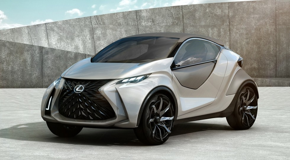 На фото: концепт Lexus LF-SA