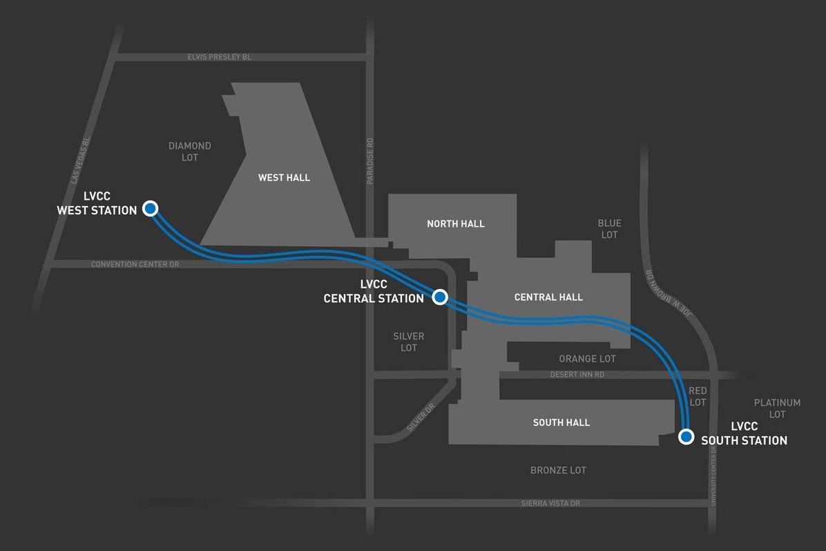 The Boring Company Илона Маска запустила автомобильное метро в Лас-Вегасе
