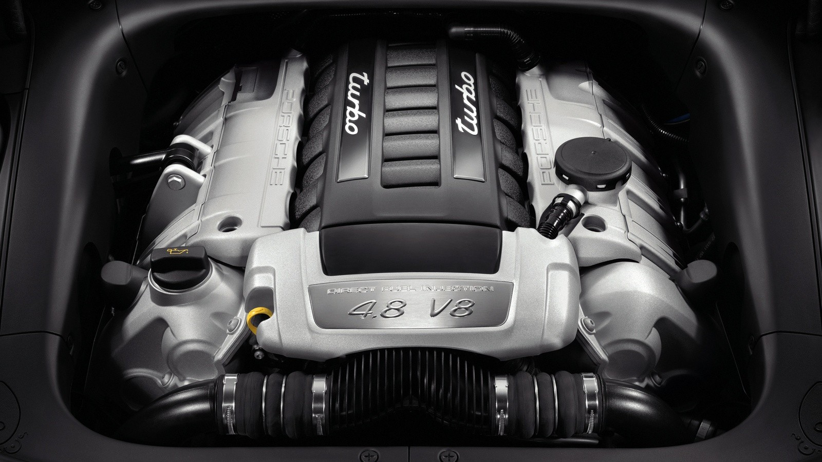 3Под капотом Porsche Cayenne Turbo (957) '2007–10