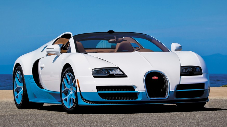На фото: Bugatti Veyron Grand Sport