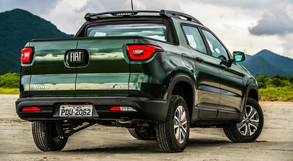 На фото: пикап Fiat Toro