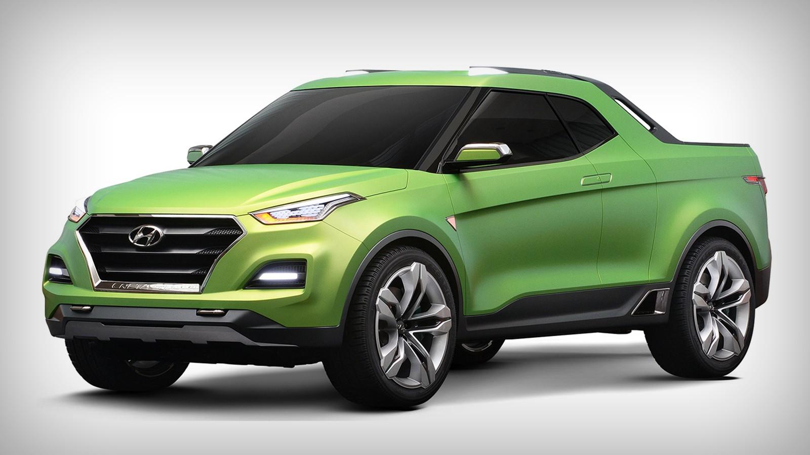 На фото: Hyundai Creta Sport Truck Concept