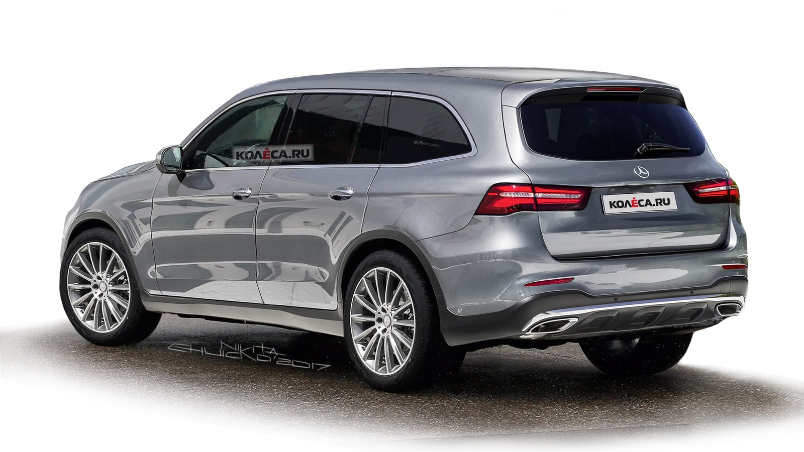 Mercedes GLS rear1