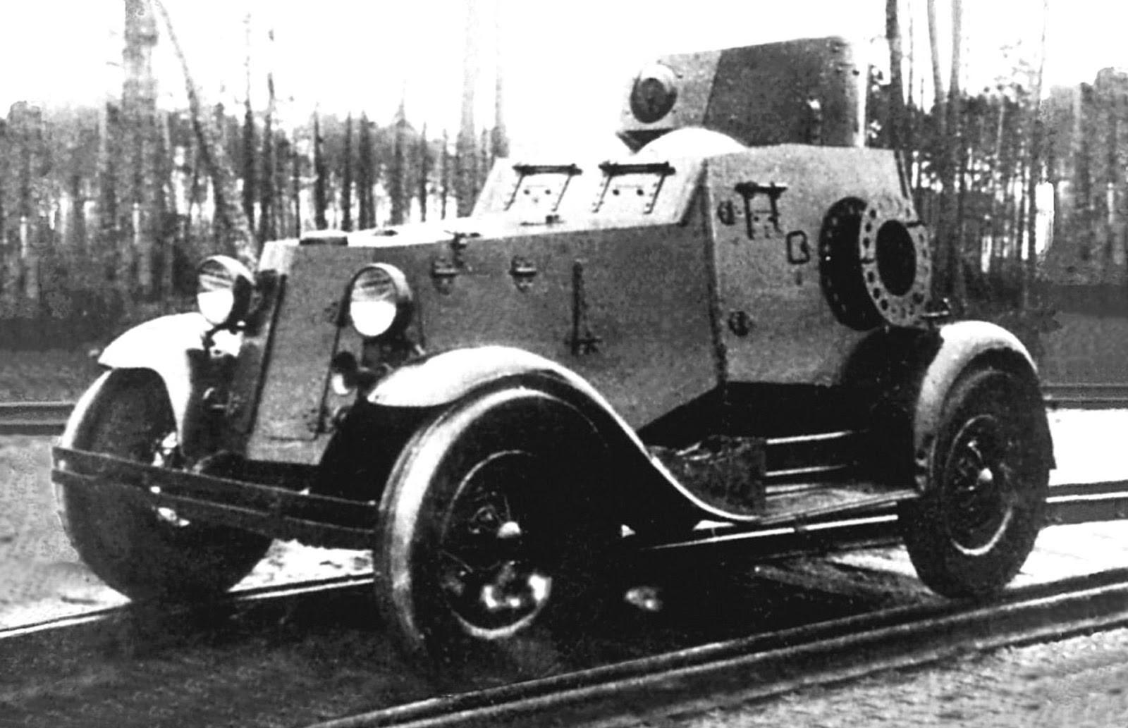 армейские легковушки СССР 10