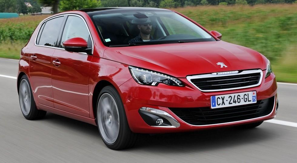 На фото: Peugeot 308