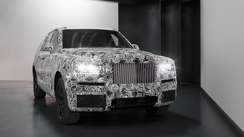 Тестовый экземпляр Rolls-Royce Cullinan