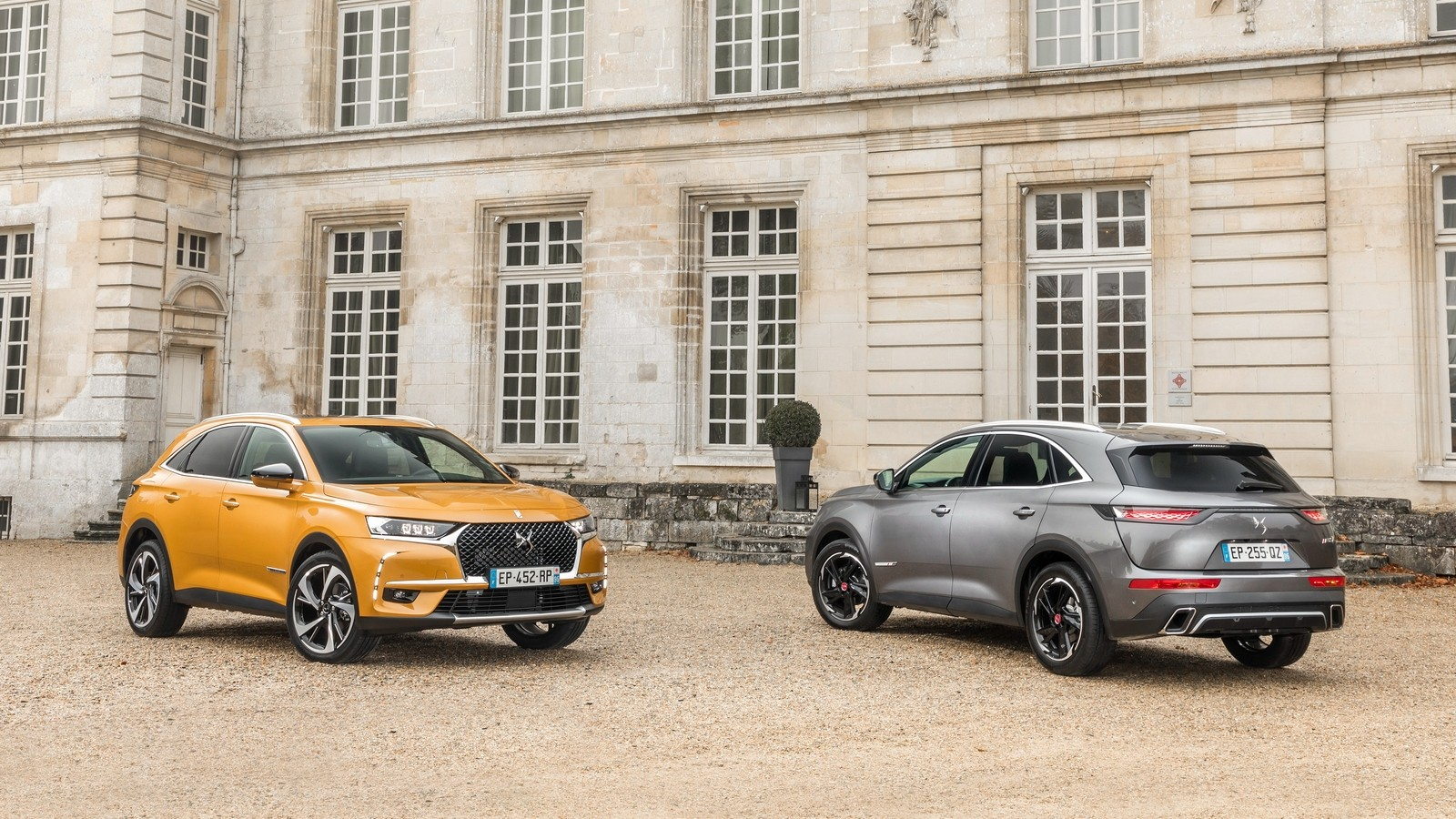 На фото: DS 7 Crossback '2017–н.в.