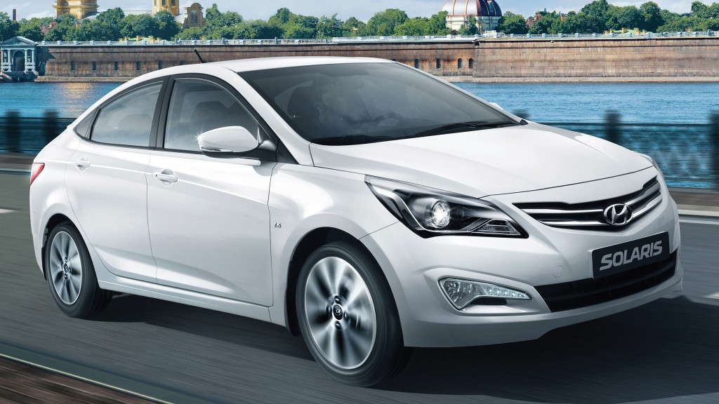 Текущее поколение Hyundai Solaris