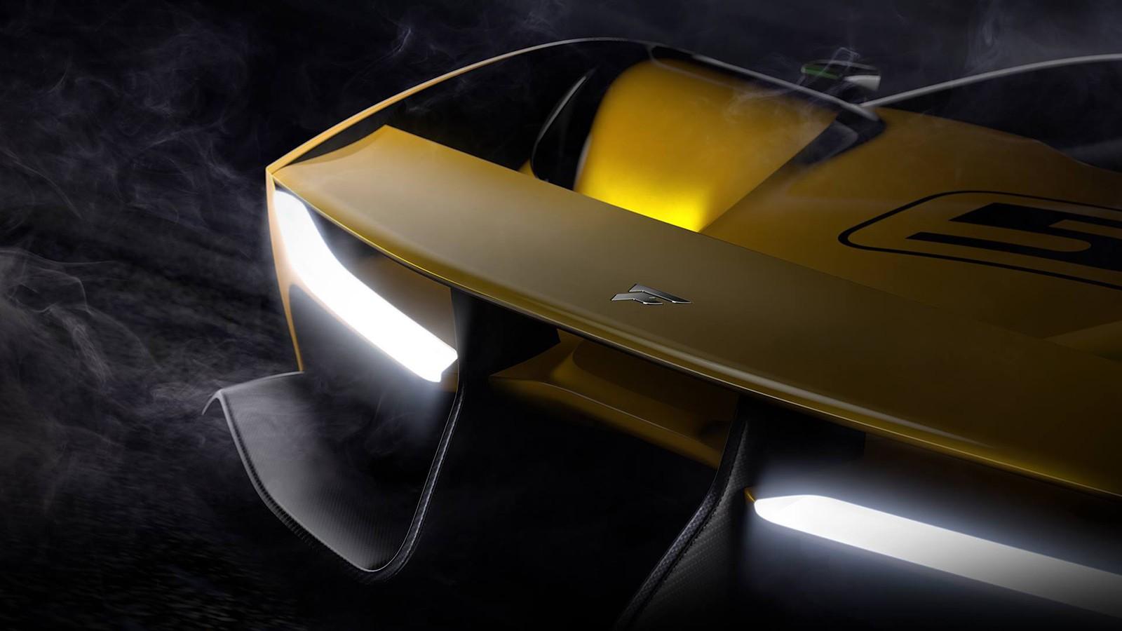 Тизер концепта Fittipaldi Motors