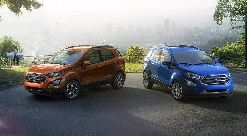 На фото: новый Ford EcoSport для США