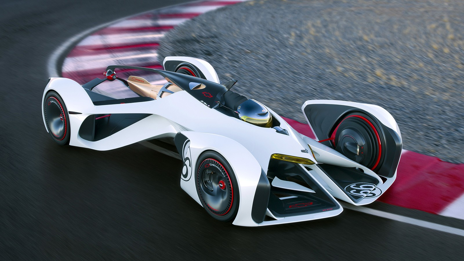 Возможно, что новый концепт Renault будет похож по способу посадки на Chevrolet Chaparral 2X Vision Gran Turismo