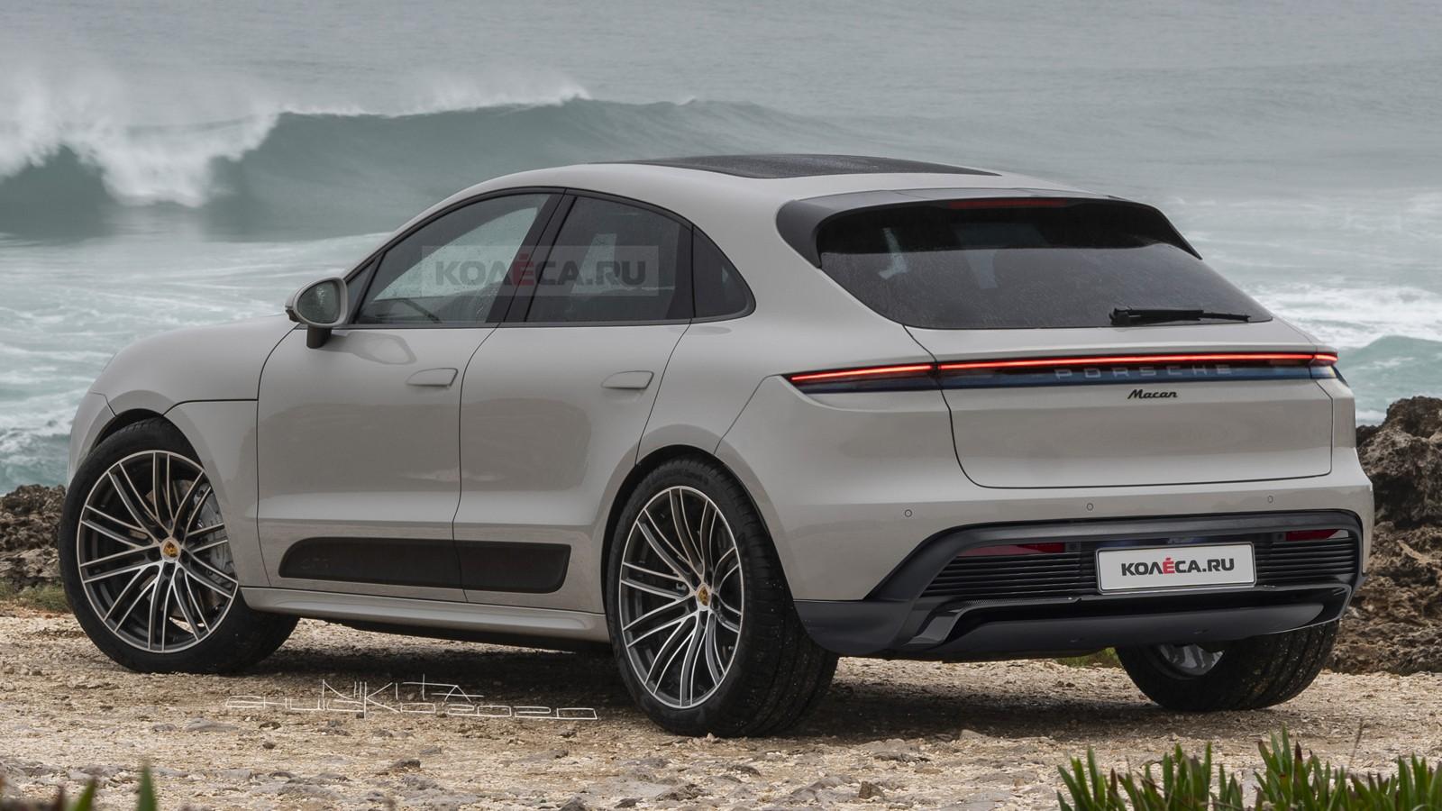 Новый Porsche Macan: первые изображения