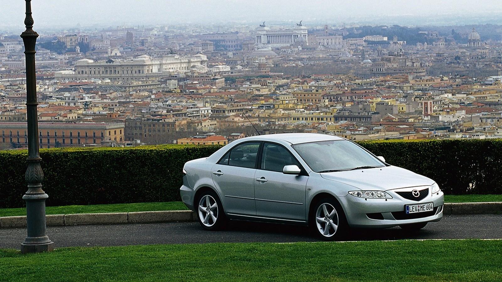 На фото: Mazda6 Sedan (GG) '2002–05