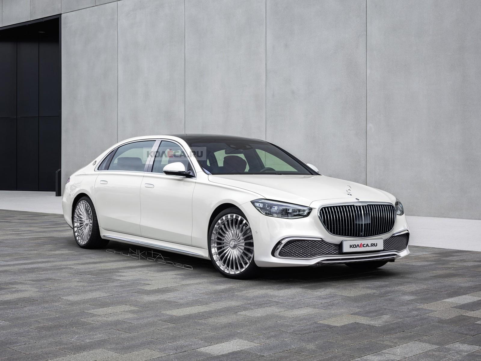 Новый Mercedes-Maybach S-класса: первые изображения