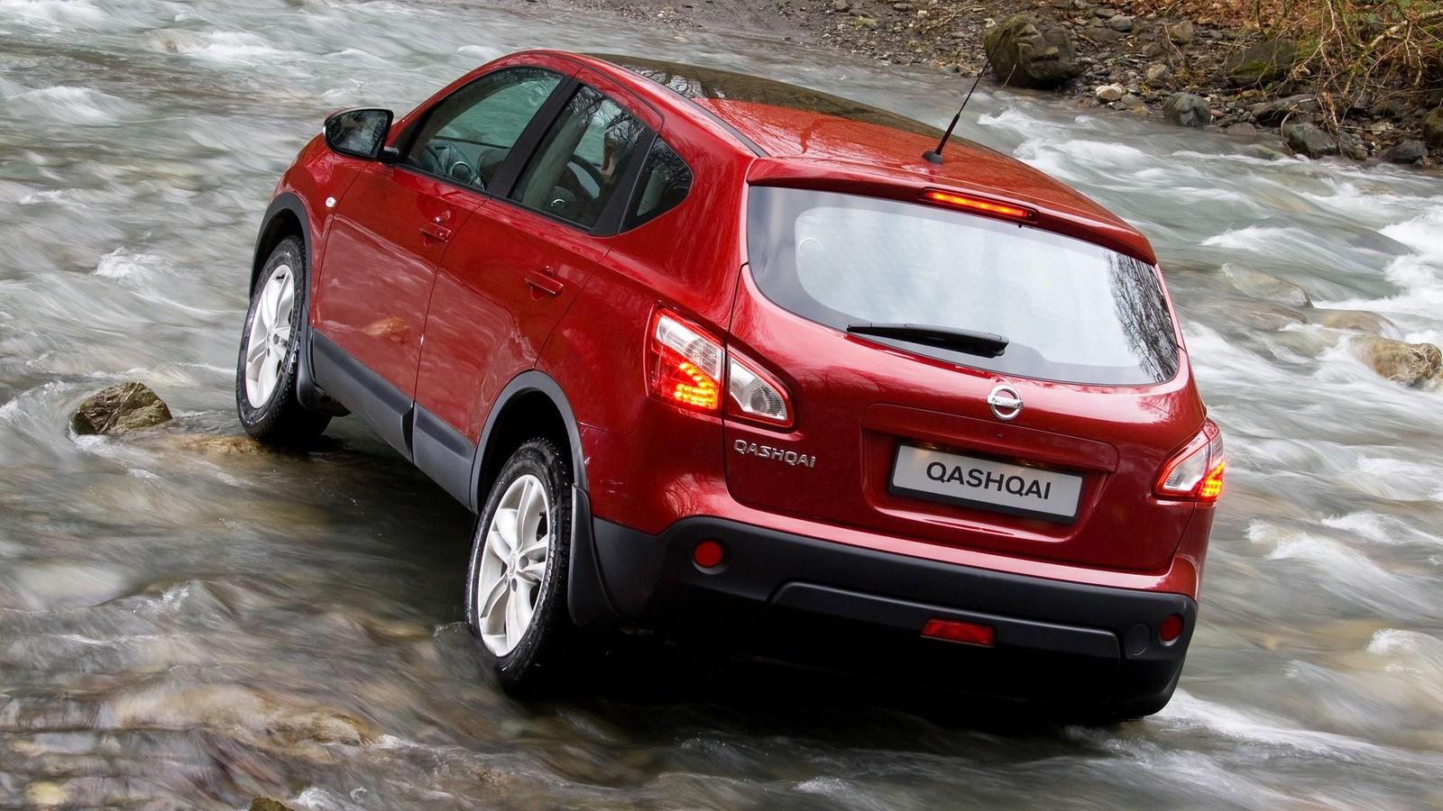 На фото: Nissan Qashqai '2009–14