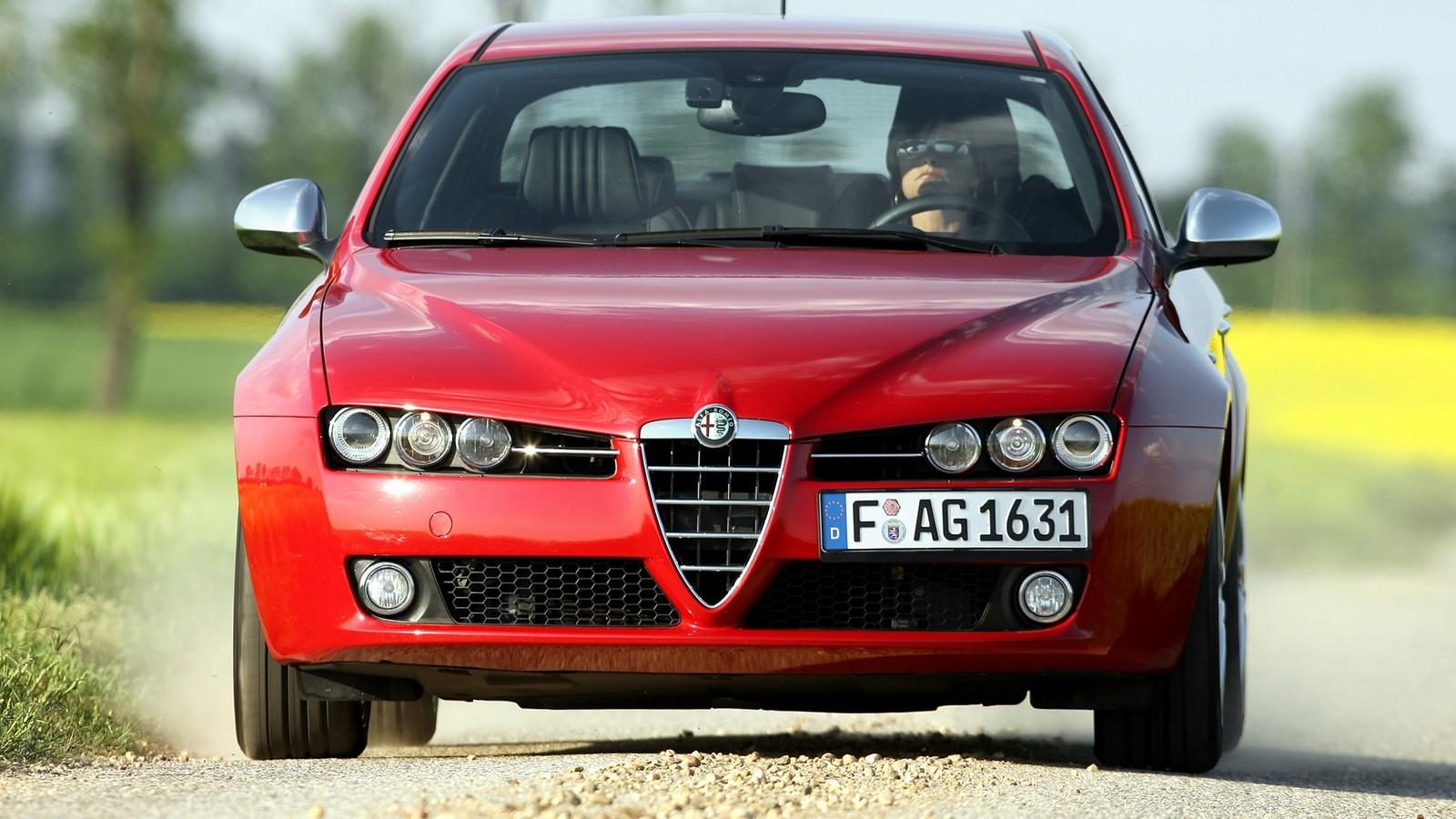 На фото: Alfa Romeo 159 Ti '2007–08