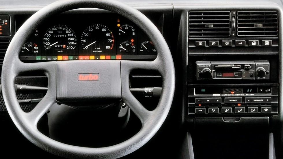 Fiat Croma Turbo салон