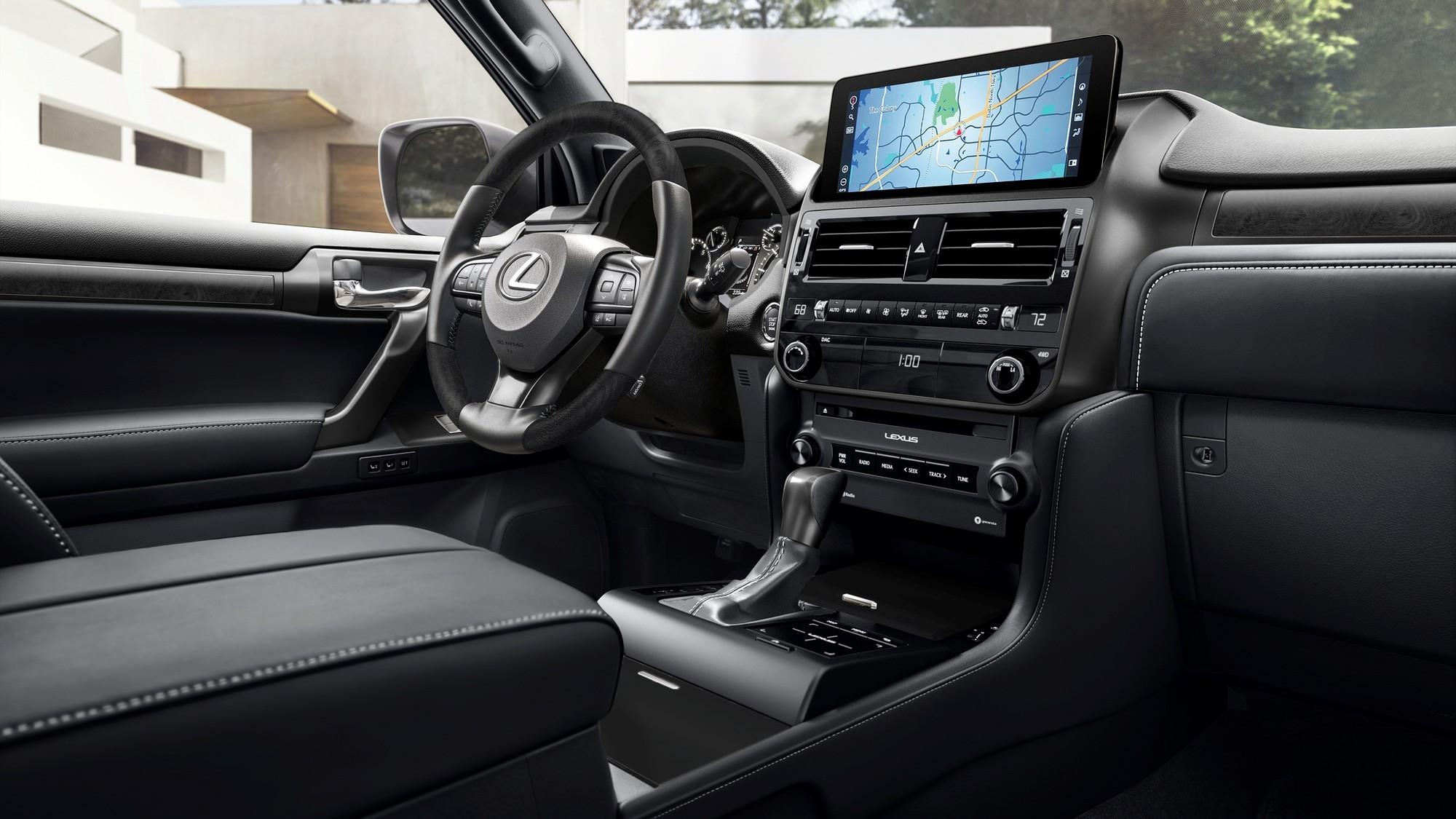 Lexus GX получил обновлённый салон и версию Black Line Special Edition