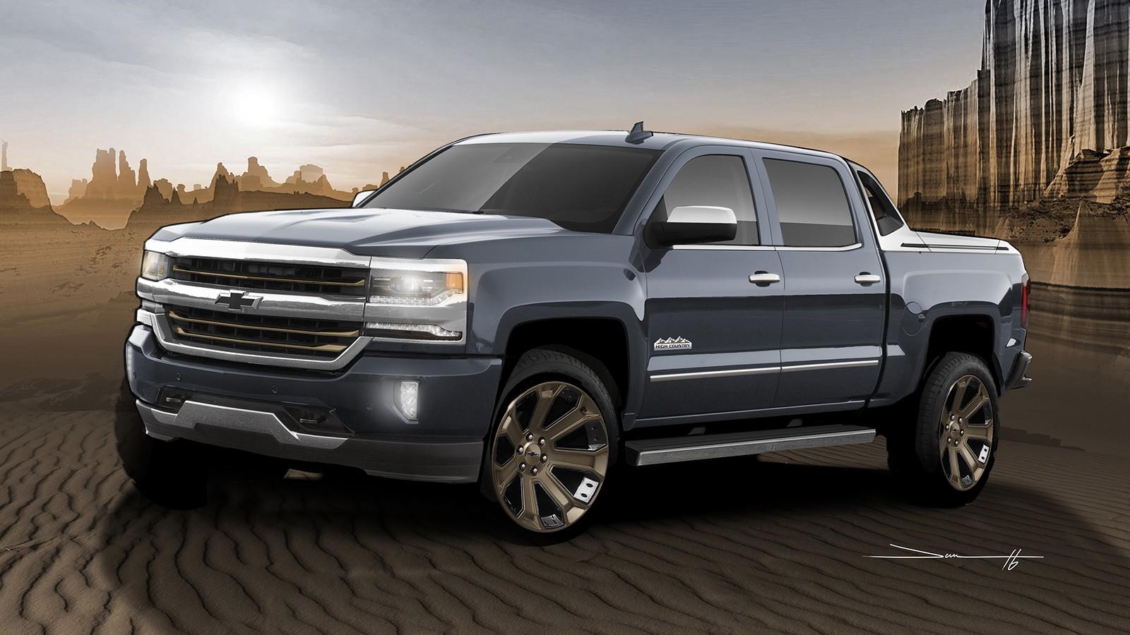 В базовой комплектации диски Chevrolet Silverado 1500 High Desert имеют размерность 20 дюймов, в версиях исполнения LTZ и High Country — 22 дюйма