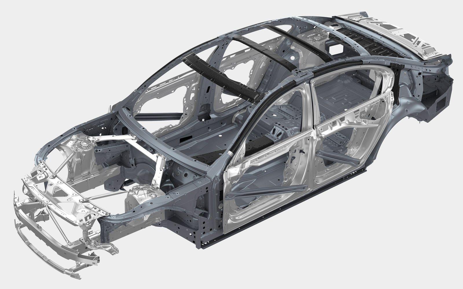 Кузов BMW 7-й серии поколения G11/G12