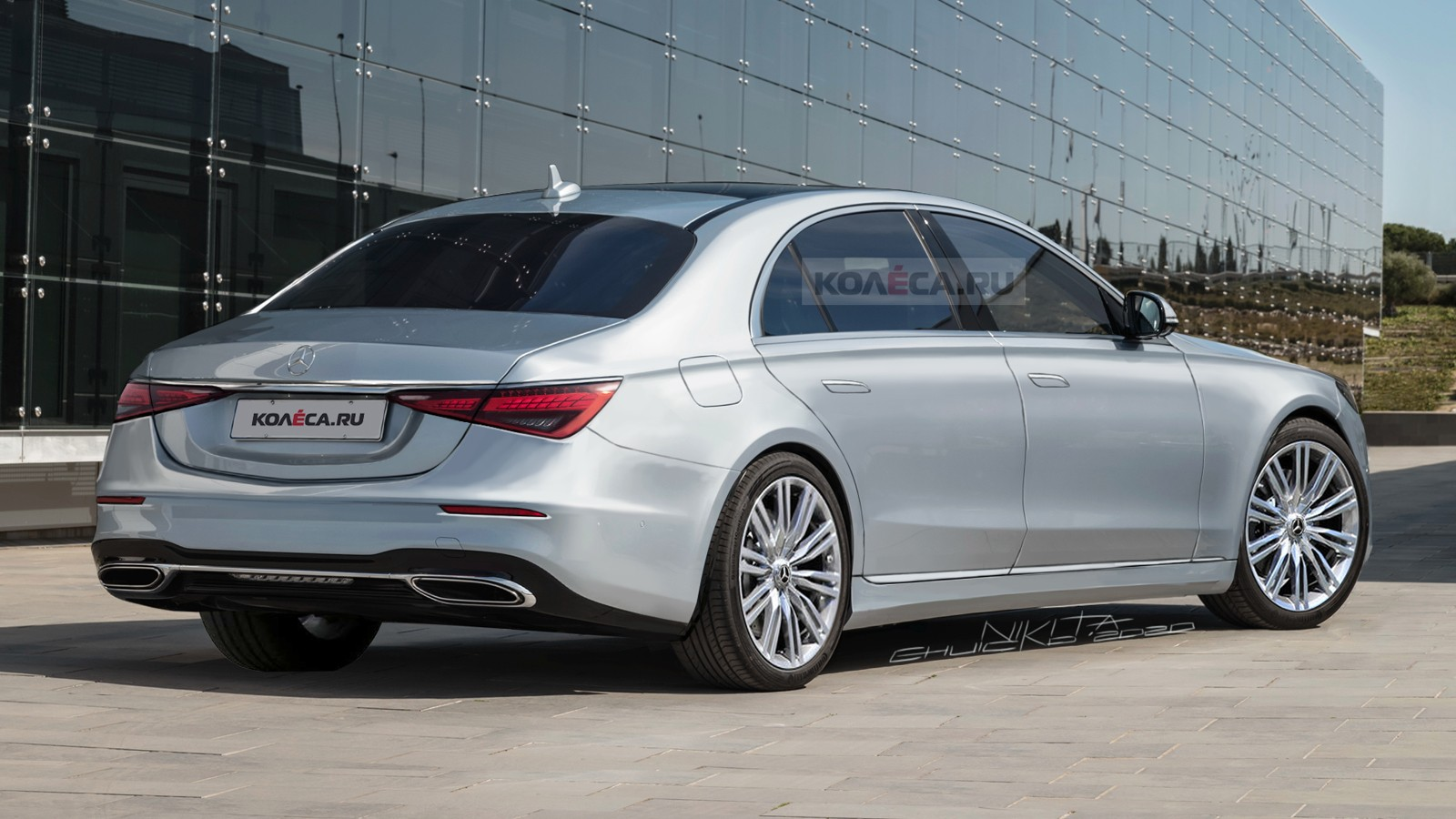 Mercedes-Benz S-класса следующего поколения (W223): новые изображения