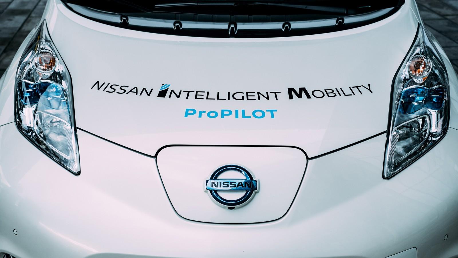 Nissan's autonomous drive demonstration event – London
