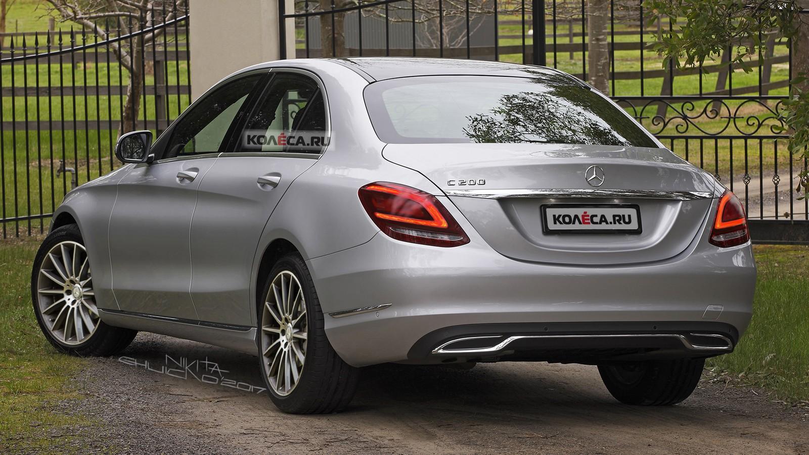 Mercedes C-Class rear1