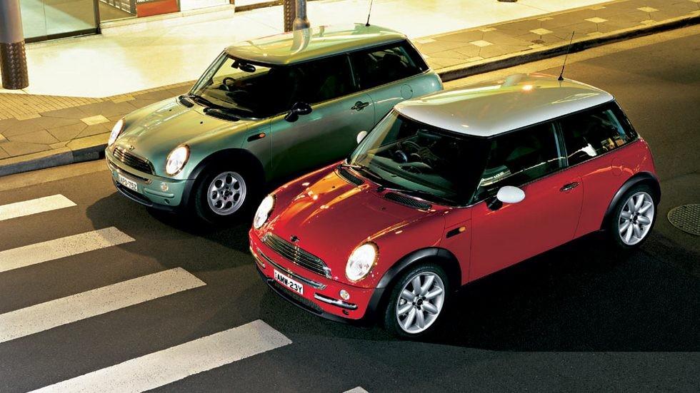 На фото: Mini Cooper '2001–04