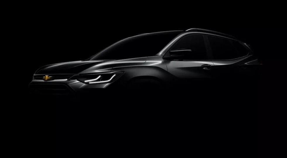 Тизер Chevrolet Tracker нового поколения