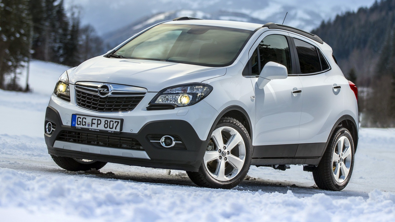 На фото: Opel Mokka Turbo 4×4 '2012–16