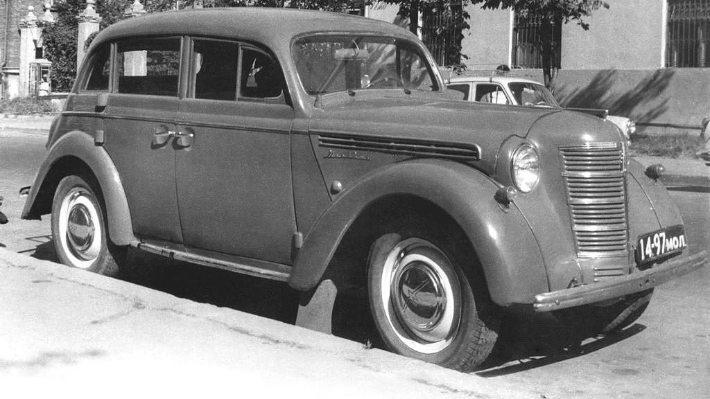 На фото: Москвич-401/420 '1954–56